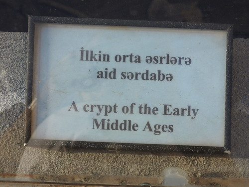 Another sign about an ancient crypt