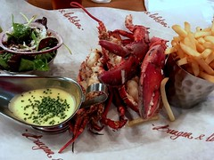 Lobster and chips from Burger & Lobster in London (Fuyuhiko) Tags: lobster chips from burger london ロンドン イングランド england