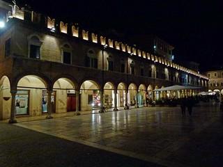 Notturno a Piazza del Popolo