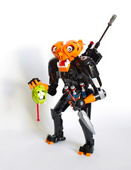 "Birk ""Headhunter"" Ahk'Irz (Loysnuva) Tags: lego moc custom bionicle system hero factory sniper headhunter bounty hunter original loysnuva bionifigs"