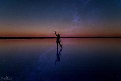 To Dance Beneath The Diamond Sky - Bob Dylan Challenge DSC_0255-Edit (BlueberryAsh) Tags: sunset swanhill bobdylanchallenge bobdylan salt lake cloudsstormssunsetssunrises night sky nightscape nikond750 nikon24120 weather landscape mrtambourineman stars starry laketyrrell saltlake sealake
