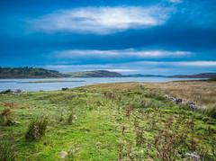 Dusk over the Islands on the Ross of Mull. (Geordie_Snapper) Tags: bunessan canon1635mm canon5d3 eurabus gaduatedfilters landscape lochnalathaich mull pm scotland september hebridies autumn