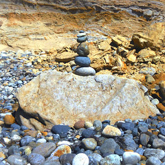 ( I'll meet you at the center of the Multiverse ) (Wandering Dom) Tags: rocks stones beach pacificocean erosion coastal earth time life reality dreams existence being nothingness roam wandering center multiverse