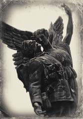 The Soldier (michelle_knight_photography) Tags: vancouver canada soldat soldier ange angel sculpture