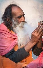 Rajasthan - Pushkar - Outskirts Holy Man-9