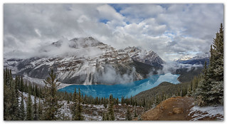 After the Storm...Peyto Lake