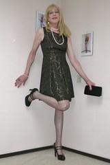 25 million views! (sabine57) Tags: crossdressing transvestism crossdress crossdresser cd tgirl tranny transgender transvestite tv travestie drag pumps highheels stockings nylons dress handbag purse clutch