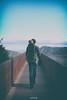 Le voyage : essentiel (Weblody) Tags: peyrepertuse cathare point de fuite pont papa enfant bébé rando randonnées vignettage bleu rouille