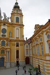 Melk (Autriche) : l'abbaye bénédictine (bernarddelefosse) Tags: melk abbaye égliseabbatiale autriche