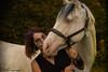 Marine & Blue Halloween (PhotOw'graphie) Tags: halloween cheval horse extérieur déguisement bisous kiss