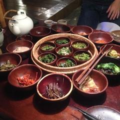 Korea - Insadong (Sanchon Restaurant)  116 (The Subcultured Traveler) Tags: iphonepics korea seoul insadong namdemeun dmz hongdae heyri sinchon travel asia backpacker subculturedtraveler