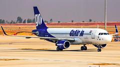 Go Air Airbus A320 VT-GOM Bangalore (BLR/VOBL) (Aiel) Tags: goair airbus a320 vtgom bangalore bengaluru canon60d tamron70300vc