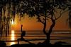 Yoga by the Bay (Andrea Kollo Photography) Tags: nature naturephotography natureartprints fineart fineartphoto fineartprints natureasart artforms andreakollo andreakollophotographer andreakollophotography artphotography countryside landscape sceniclandscape ruralontario sunset sunsets celestial