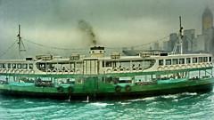 Hong Kong Star Ferry on a rainy day (gerard eder) Tags: world travel reise viajes asia eastasia easternasia china hongkong boats boote barcas wasser water city ciudades cityscape cityview städte stadtlandschaft starferry rain outdoor