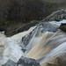 Kuhaköngäs waterfall (long exposure panorama)