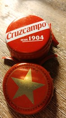 Spanish lagers (darrenatherton061) Tags: lager spanish estrella cruzcampo