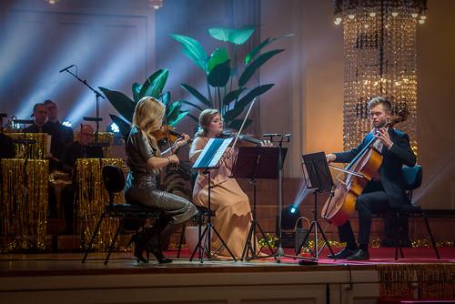 Eesti Muusikanõukogu muusikapreemiad 2017.  Triin Ruubel, Johanna Vahermägi, Theodor Sink