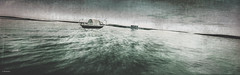 Down by the River (10 MIX) Tags: secondlife sl landscape river asia sky texture 3d water cloud view monochrome green boat ship rivière virtual metaverse