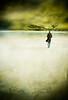 Winter walk (borealnz) Tags: walk man vignette coat beach allansbeach newzealand winter