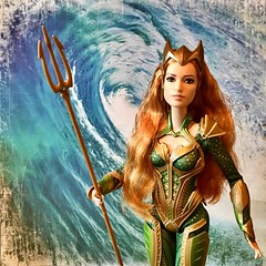 Queen Mera of Atlantis (MaxxieJames) Tags: queen atlantis mattel collector doll barbie heard amber aquaman league justice mera