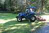 New Holland TN70 - last cut for summer of 2017 (D70) Tags: new holland tn70 last cut for summer 2017 warnerloatpark burnaby bc canada canon powershot s120 ƒ28 52mm 1100 160 tractor mower italy 29l 3cyl diesel 66 hp 492 kw