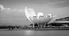 Where Art and Science meet (lizcaldwell72) Tags: water artsciencemusuem sky lotusflower singapore cloud light
