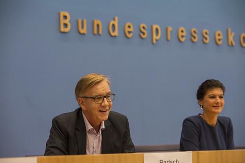 Bundespressekonferenz DIE LINKE nach BT-Wahl