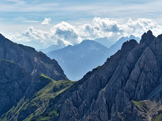 View from the Seefelder Spitze (2221m)