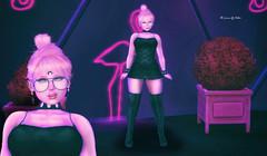 In The Still Of The Night (Cherry Inventor) Tags: blackfair boom catwa deetalez elise maitreya monso cynful moda phedora c88 blog fashion kawaii secondlife 3d virtual