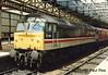 BR Class 47 47567 'Red Star' - Crewe (dwb transport photos) Tags: britishrailways locomotive 47567 redstar crewe