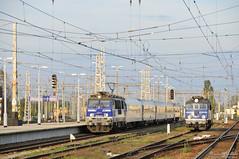 EP09-016 i EP07-233 Warszawa Wschodnia (rokiczaaa) Tags: ep09 ep07 warsaw train zug railway poland