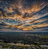 Colorful Sunset (DonMiller_ToGo) Tags: mavicpro hdr autostitch 3xp sky panoramic panoimages2 outdoors skypainter aerial sunset clouds florida