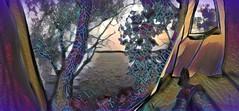 Water's Edge (flynryon) Tags: flynryon texture canvas flickr fingerpaintedit iamda paintbookca mobile art scumble mike ryon ipainter landscapes portraits figures mashablecom iphone digital paintings kansas