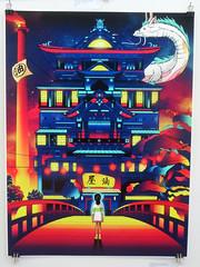 'Spirited Away' (edenpictures) Tags: miyazakiartshow hayaomiyazaki spokenyc spokeart artgallery galleryshow exhibit anime animation spiritedaway chihiro thebathhouse