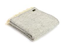 "Tweedmill Throw Fishbone Silver Grey • <a style=""font-size:0.8em;"" href=""http://www.flickr.com/photos/139554703@N03/37441788966/"" target=""_blank"">View on Flickr</a>"