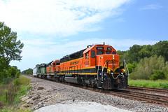 BNSF 1568 EMD SD40-2 (Trucks, Buses, & Trains by granitefan713) Tags: bnsf burlingtonnorthernsantafe galesburg railroad railfan nikon nikond3100 d3100 locomotive roster emd emdsd402 sd402 sd40 manifest mixedfreight local shorttrain yardpower
