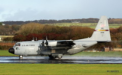 """96-1006 United States Air Force Lockheed C130H Hercules Minnesota ANG """"RCH 677"""" arrives from Greece at Prestwick.4/11/17 (BS Images.) Tags: c130 c130h military lockheedmartin lockheed hercules airport aircraft aviation ayrshire egpk glasgowprestwick gpa prestwick prestwickairport pik southayrshire scotland"""