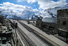 Gornergrat - Mountain Railway Station (phil_king) Tags: gornergrat mountain peak summit railway station zermatt swiss alps switzerland suisse schweiz moutains bahn