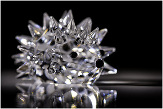Macro Mondays - Souvenir - Swarovski Crystal Hedgehog (From Austria)