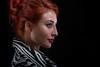 Face (Aldo VC) Tags: select woman fashion girl female pretty beautu pelirroja cebra studio portrait