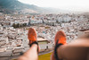 Tétouan (Leo Hidalgo (@yompyz)) Tags: tétouan marruecos المغرب almaġrib morocco street calles landscape feet shoes