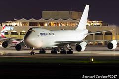 El Al Cargo Boeing 747-412F(SCD) '4X-ELF' LMML (Jeancarl Cardona) Tags: el al cargo boeing 747412fscd 4xelf lmml