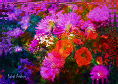Mums (brillianthues) Tags: mums fall floral abstract colorful collage photography photmanuplation photoshop