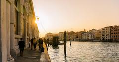 Punta della Dogana (Francisco Esteve Herrero) Tags: venezia venice venecia puntadelladogana italia italy canales canal grancanal nikond5300 franciscoesteveherrero pacoesteveherrero atardecer 2017