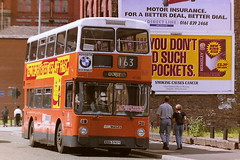 GM BUSES NORTH 4590 ANA590Y (bobbyblack51) Tags: gm buses north 4590 ana590y leyland atlantean northern counties ncme manchester 1995