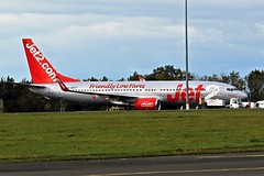 G-GDFV JET2 BOEING 737 NEWCASTLE (toowoomba surfer) Tags: airline airliner aviation aircraft jet aeroplane ncl egnt