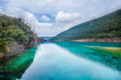 Blue Moon Valley Lijiang (w.suppavas) Tags: art asia beautiful beauty blue china chinese clouds green lake landmark landscape life lijiang moon mountain nature people photo postcard scene scenery scenic sky sport travel tropical valley view wallpaper water woman yunan