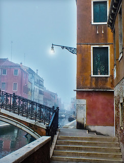 Early morning in Venise