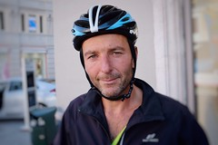 Stranger 12/100 - Dino (andrea::tognoli) Tags: 100strangers colorportrait portrait trip viaggio cicloturismo ciclista bikers biker bike bicicletta