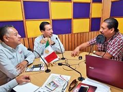 """En entrevista con @Betillocruz  @ororadio 93.7fm exponemos las estrategias del Programa MAS Oaxaca """"Macrosector San Juan Chapultepec"""""""